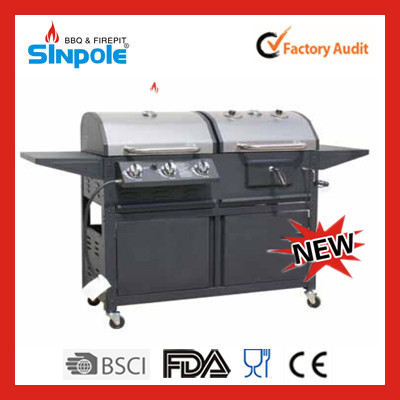 2015 New Patent Sinpole Portable Coal BBQ Grill