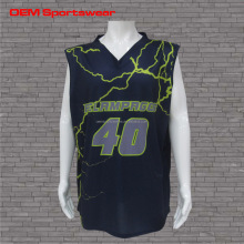 cheap custom full sublimation basketball jersey