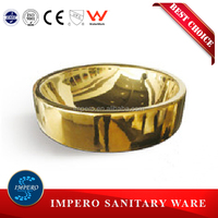 Golden Color Art Basin Ceramic Hand Wash Basin