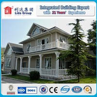 Widely use of CE approved steel villa/Light steel villa / Luxury villa in high quality