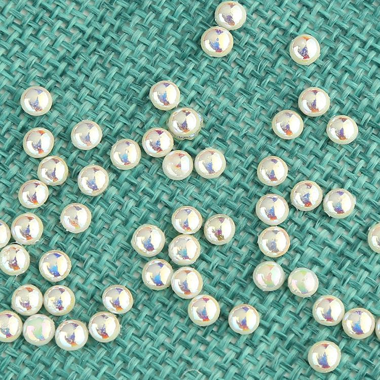 New coming custom design 20mm round glass pearl beads with good prices