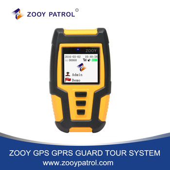 ZOOY GPS 2G 3G 4G GPRS RFID Guard Clocking System