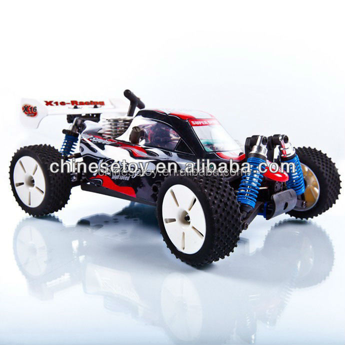 1/16 RC Nitro Gas Powered 4WD RTR Radio Control Racing Car