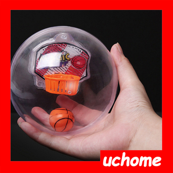 UCHOME New mini lights up basketball sport toy electronic basketball shooting machine
