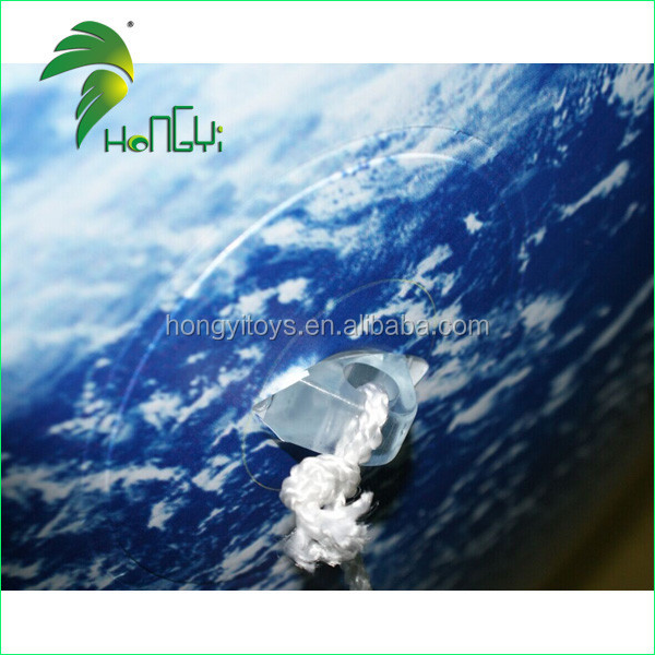 Customized Giant Inflatable Earth Globe , Inflatable World Globe For Sale