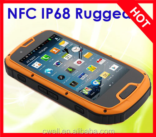 ALPS S09 NFC 4.3 inch MTK6589 Quad Core Android Rugged Water Poof Phone 2800mAh Battery