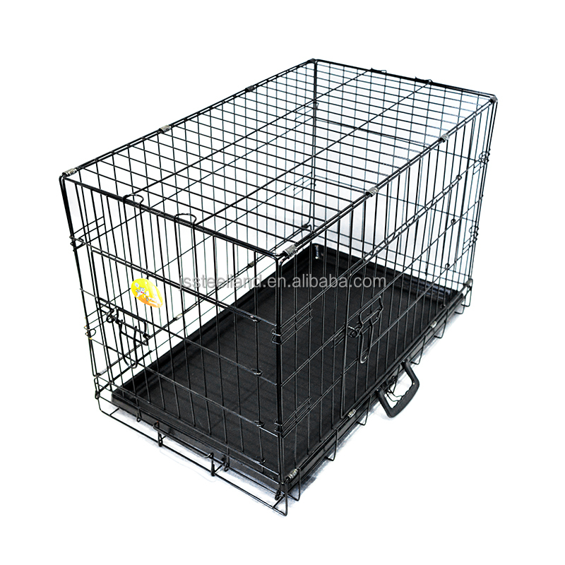 Hot design Double door wire welded dog crate for DE market