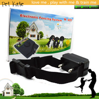 Pet Fence 227 Underground Wired Dog Containment Kennel with Shock Collar