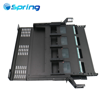 Fiber Optic Patch Panel Box 1U MPO MTP 144 Fiber Port Core