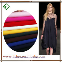 Woven fabric / cotton poplin fabric construction used for fashion dress