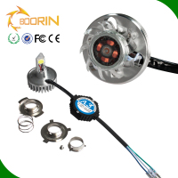 Normal type high low beam 25W motorcycle led headlight from Boorin