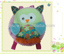 soft plush animal bag backpack for kid