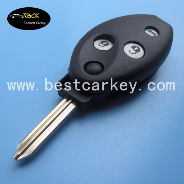 Good Price car key shell 3 buttons with X-Type blade flip remote key shell