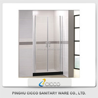 High Quality Wholesale Fashion Tempered Glass Shower Door Manufacturer 651
