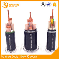 VV low voltage 150 sq mm round copper conductor power cable