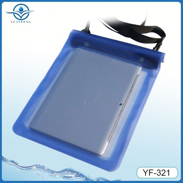 Ipx8 degree waterproof bag for hand strap case for ipad mini