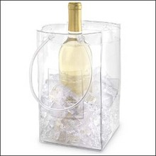 PVC Ice Bags For Wine Plastic Ice Bag For Wine Pvc Ice Bag