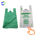 100% Biodegradable Plastic Bags T-shirt Bags with EPI