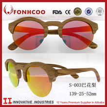FONHCOO 2016 Rose Wood Wooden Frame Material And Fashion Style Eye Glasses