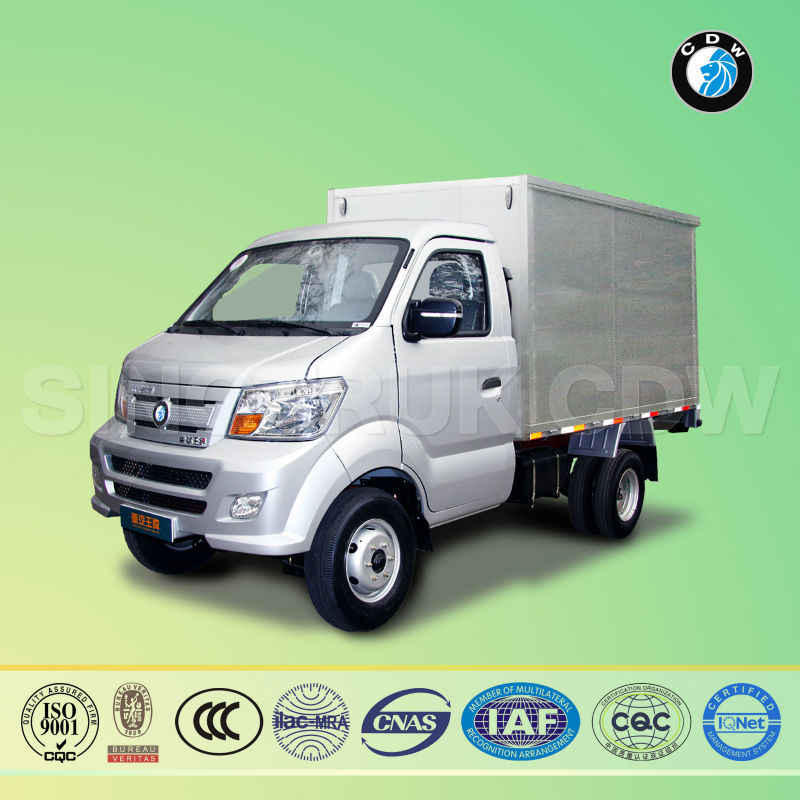Sinotruk CDW 717P10B diesel Euro-I china mobile mini food trucks car for sale