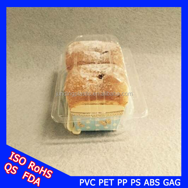 Bread packaging Clear plastic food storage containers for sales
