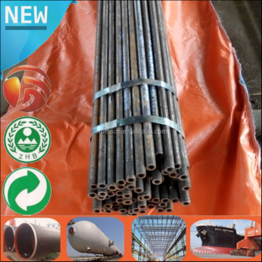 Low Price Large Stock API 5L ASTM A106 SCH160 Hollow Bar 1/2'' Seamless steel pipe tube