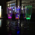 Eco friendly led champagne glass with FDA certificate