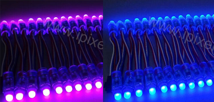 12mm ws2811 led pixel module ,rgb led pixels 12mm