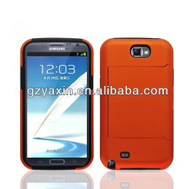 For Samsung Note2 Accessories,Custom Case,Factory Price Case For Samsung