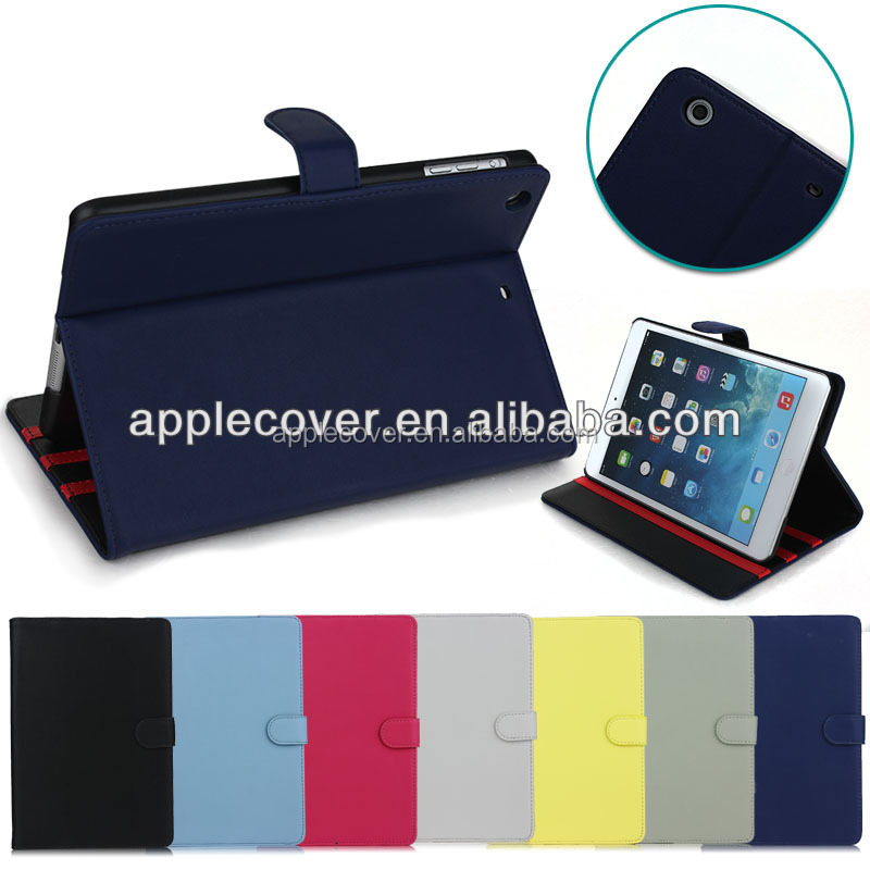Wholesale Price Flip Leather Case For iPad Mini 1 2 3 , for apple iPad Mini cover case