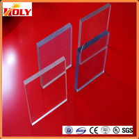 Clear Plastic Container Sliding Doors PC Solid Sheet, Polycarbonate Roofing Panels