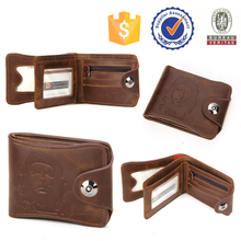 hongbang leather product best brand men wallet