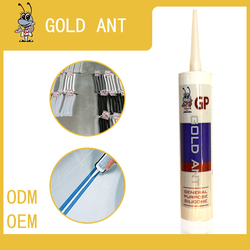 Acid Transparent white glass glue glass adhesiv acetic Silicone sealant GP antibacterial silicone white