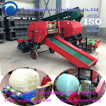 Fully automatic silage baling machines Hay baling machine