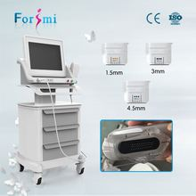 Anti-wrinkle & skin tightening focused ultrasound hifu portable multifunction beauty equipment
