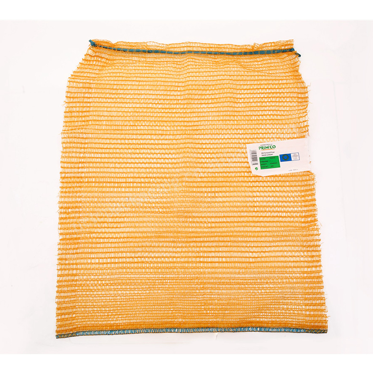 Yellow,green,white and red Raschel mesh bag for onion,potato