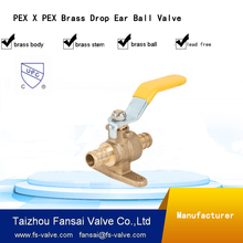 cw617n forged manufacturer 3 way brass ball valve