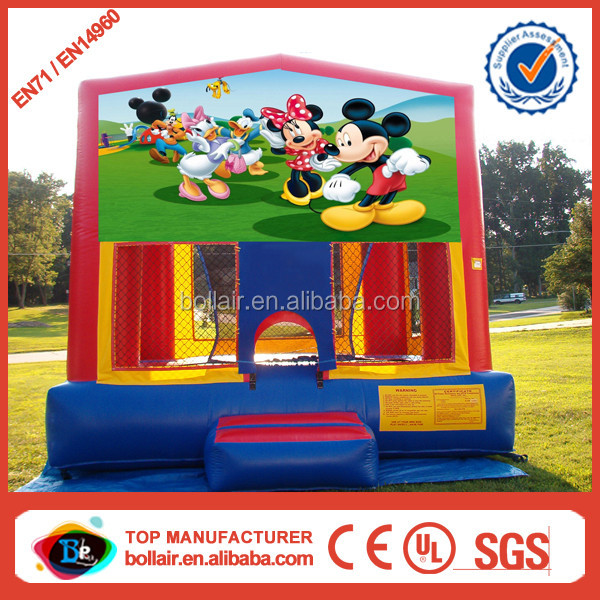 Factory supply custom design mickey mouse kids bouncer