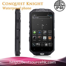Hot Sale T3 IP68 Waterproof Dustproof Shockproof & Skype Wechat Rugged Brand Name Cell Phone
