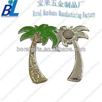 Strong magnetism attached tree shape fridge magnet for souvenirs