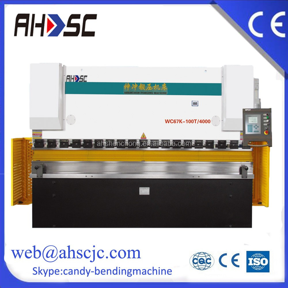 China supplier AHSC Brand Hydraulic Press Brake With 6 Meter and 600 Tons For Sale