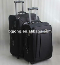two wheels ballistic nylon luggage