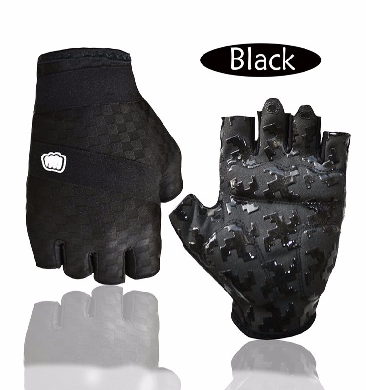 Outdoor protective gloves <strong>Shock</strong>-proof gloves half finger gloves