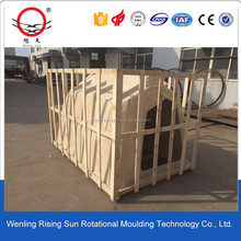 1000l used rotomoulding ibc plastic container/tank for sale