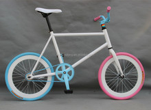 Newest Mini High-ten Steel Single Speed Freestyle Road Bike Made In China Factory
