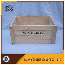China Supplier Antique Natural Wood Fruit Box Wholesale