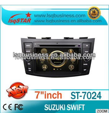 High Quality LSQ Star Car Central Multimedia For Suzuki Ertiga/Swift Manufacturer With 3g/dvd/bluetooth/tv/ipod Hot!