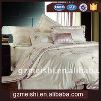 pure silk light grey bedding sheet sets