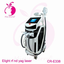Professional ipl shr hair removal beauty equipment/painless hair removal machine