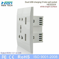 ac power socket female for cell phone charging